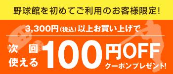 3240円以上お買い上げで次回使える100円引きクーポンプレゼント中!