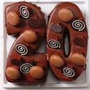 ナンバーケーキチョコレート