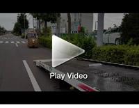 日本唯一の虎竹自動車 竹トラッカー積込