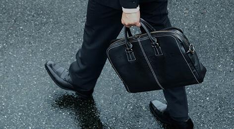 雨に強くて使い勝手にも優れる、「プロータ」のビジネスバッグ。