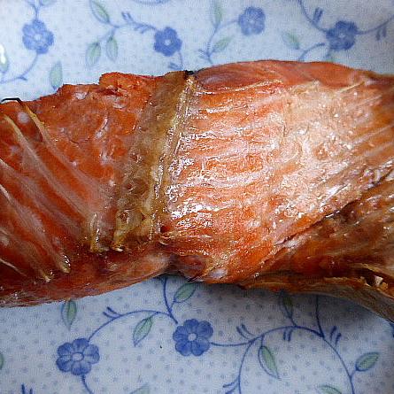 紅鮭のカマ