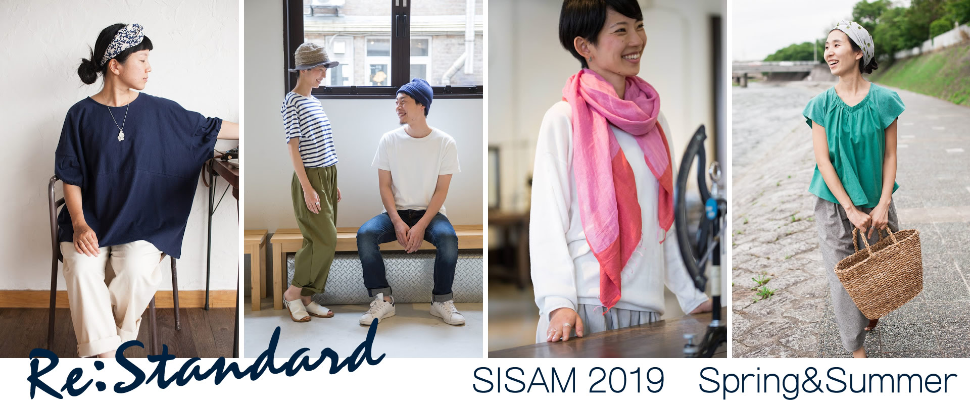 sisam シサム工房spring&summerシリーズ 発売開始♪