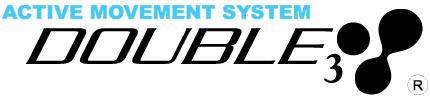 アマチュアアスリートの日々のトレーニングを快適にサポートする高機能スポーツウェア!DOUBLE3!