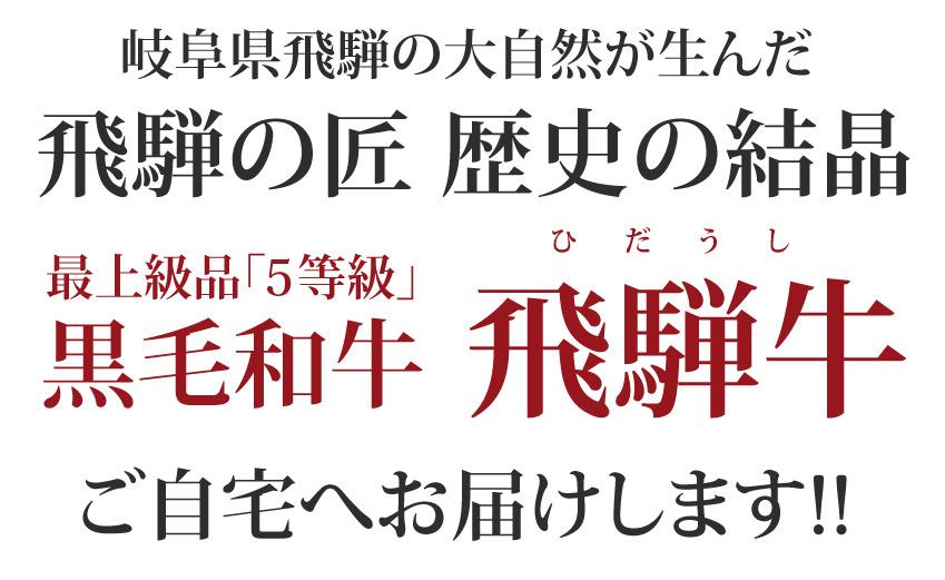 岐阜県飛騨の大自然が生んだ飛騨の匠 歴史の結晶 飛騨牛 専門店より産地直送 ご自宅へお届けします