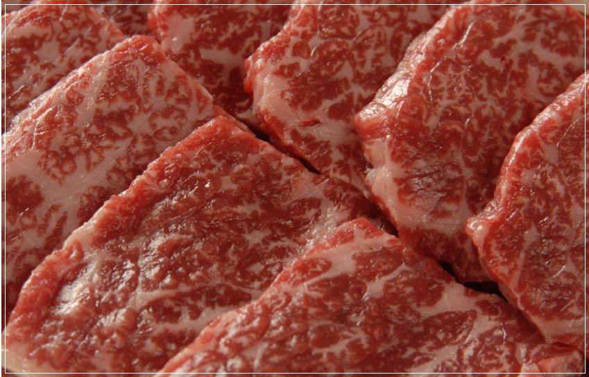 飞驒牛肉大理石花纹的
