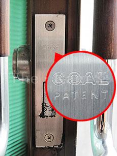 店舗・事務所などのガラスドア 交換説明書・取替説明書GOAL PSタイプ シリンダー