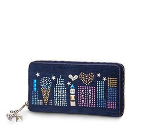 エンパイアジャズビー ラウンド財布(ブルー)