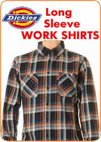 Dickies L/S WORK SHIRTS