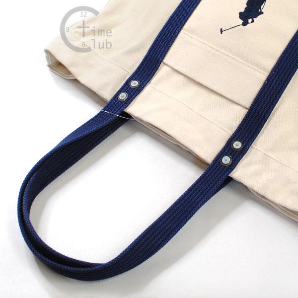 Ralph Lauren Polo White Canvas Big Pony Handbags