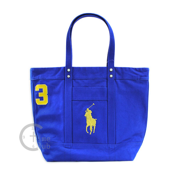 POLO RALPH LAUREN Polo Ralph Lauren tote bag 405532853 big pony canvas tote Red Blue Navy black black white ivory handbag BIG PONY men\u0026#39;s women\u0026#39;s