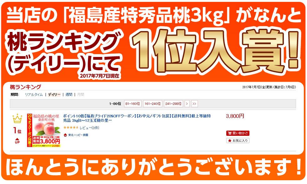リアルタイムランキング1位入賞!
