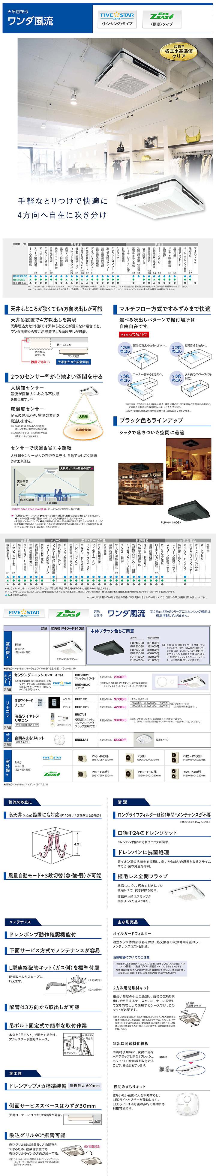 ダイキン SZRU112BCD 業務用エアコン
