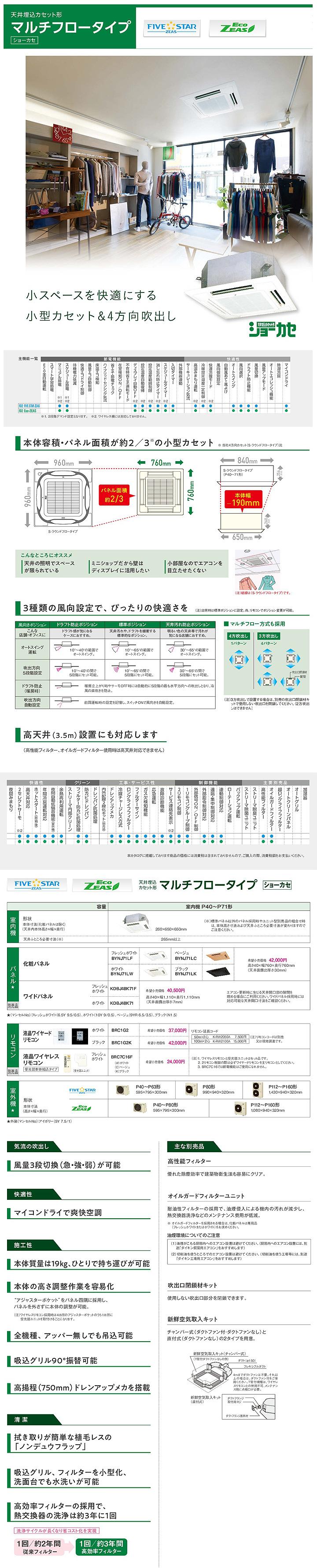 ダイキン SZRN45BCNV 業務用エアコン