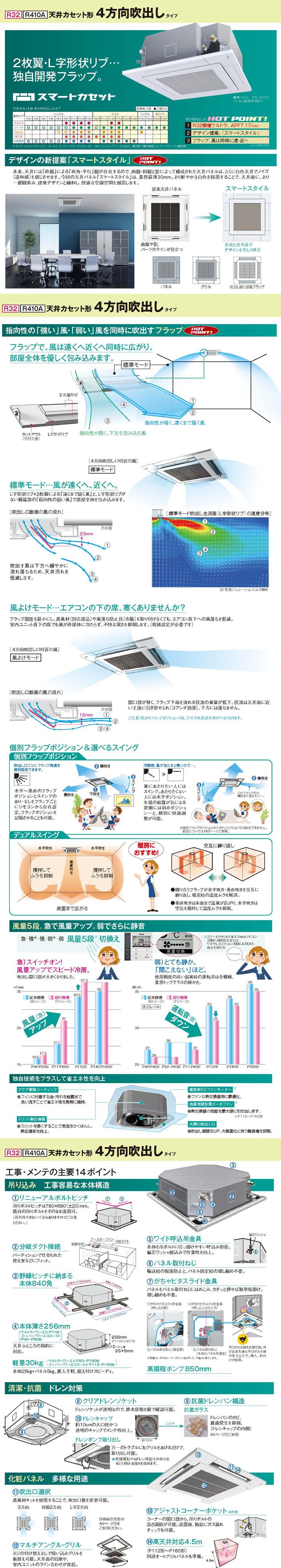 東芝 RUSA04533JM 業務用エアコン