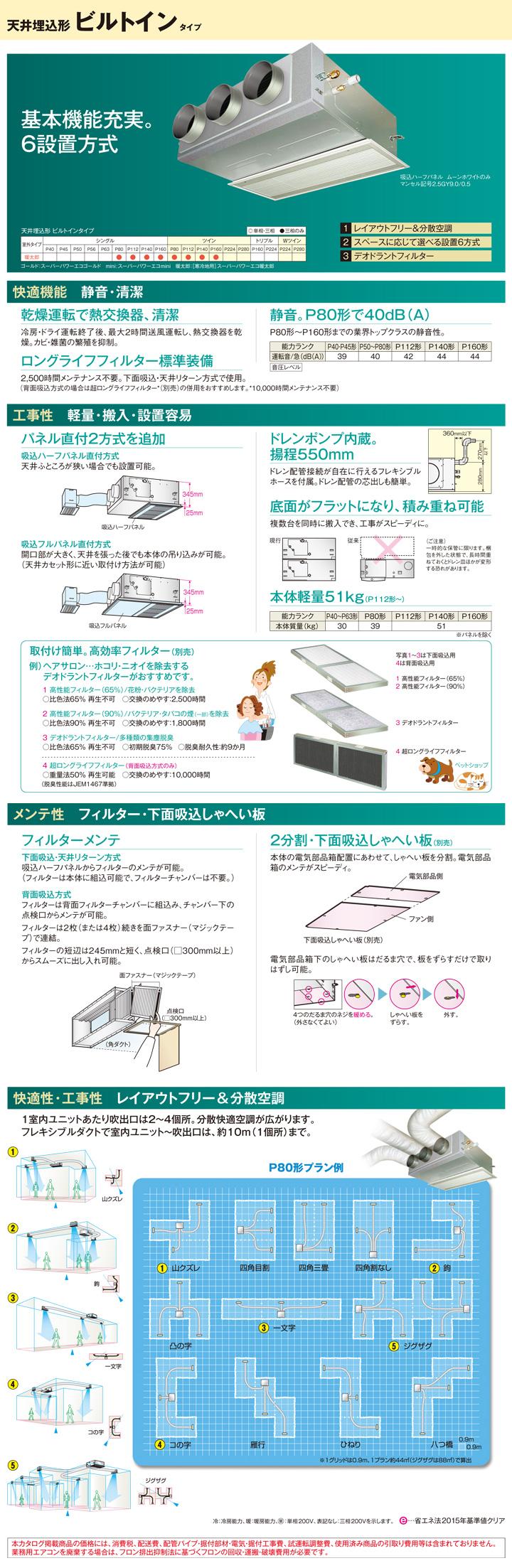 東芝 RBHA08031M 業務用エアコン