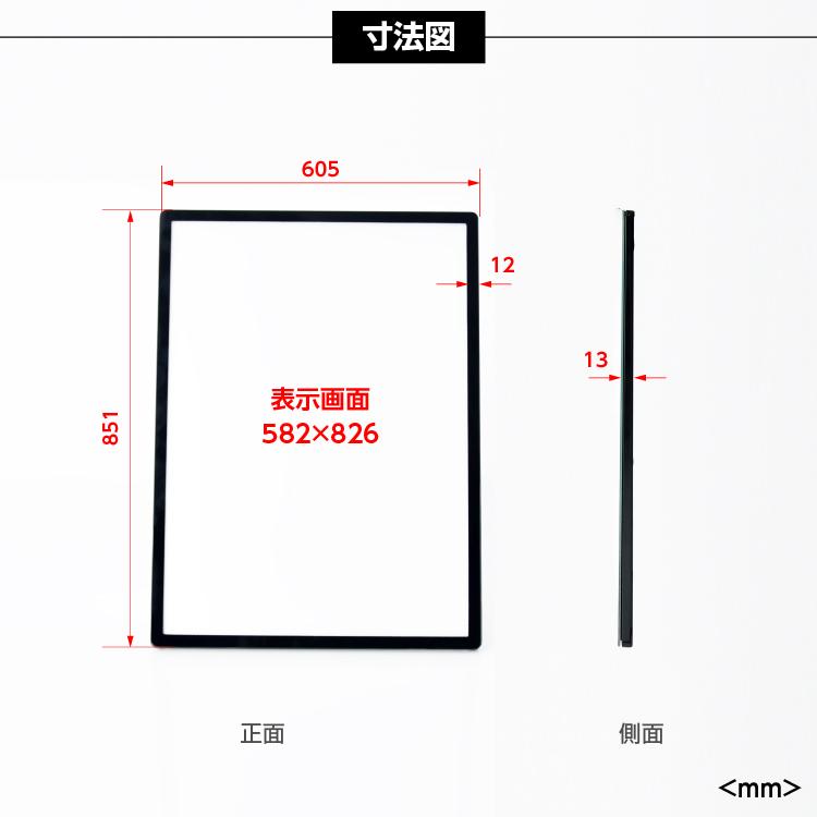 超薄型&軽量&高照度のLEDバックライトパネル