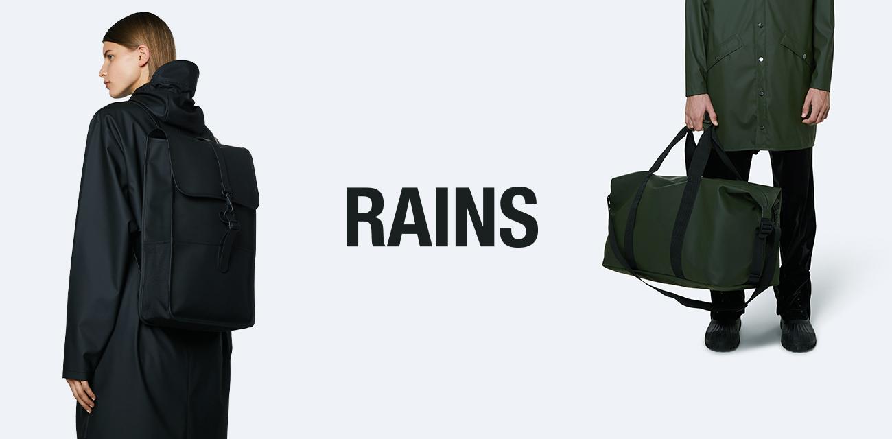 RAINS(レインズ) 雨の日でもファッショナブルに使えるワードローブを目指してユニークな商品を作り続けています。