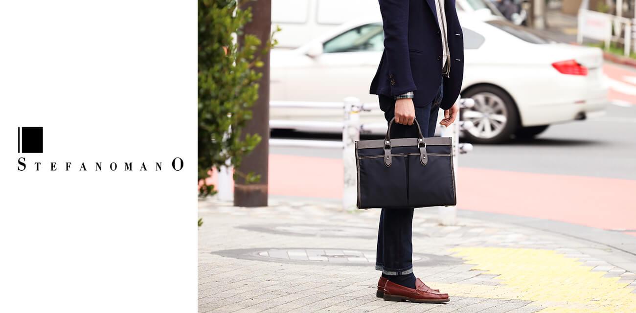 STEFANOMANO(ステファノマーノ) 熟練の鞄職人による100%MADE IN ITALYファクトリーブランド