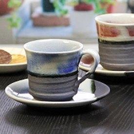 ブルーベリーコーヒーカップ