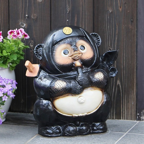 ドロン忍者たぬき(黒)