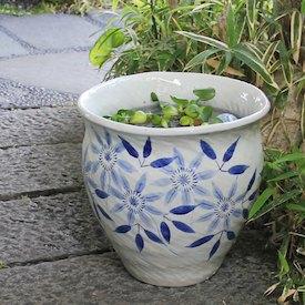 12号テッセン絵水鉢