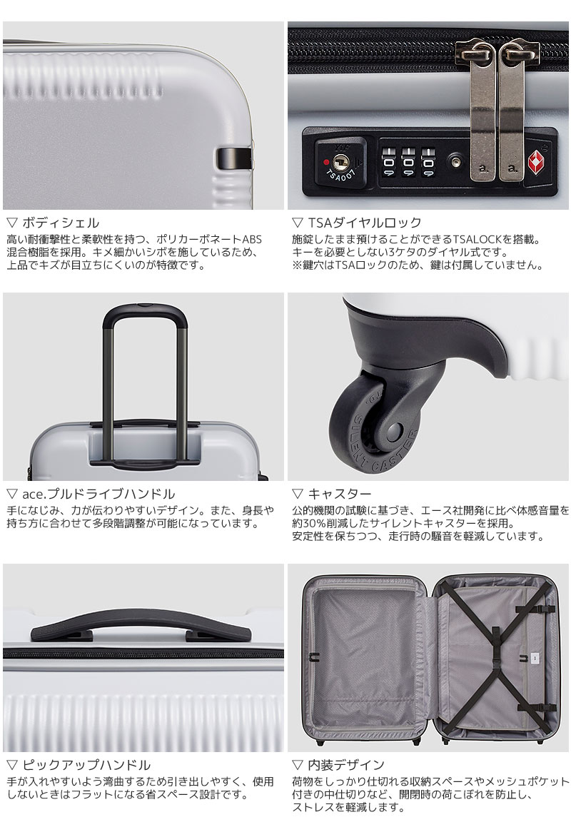 ウィスクZ スーツケース 04021:32L 共通イメージ02