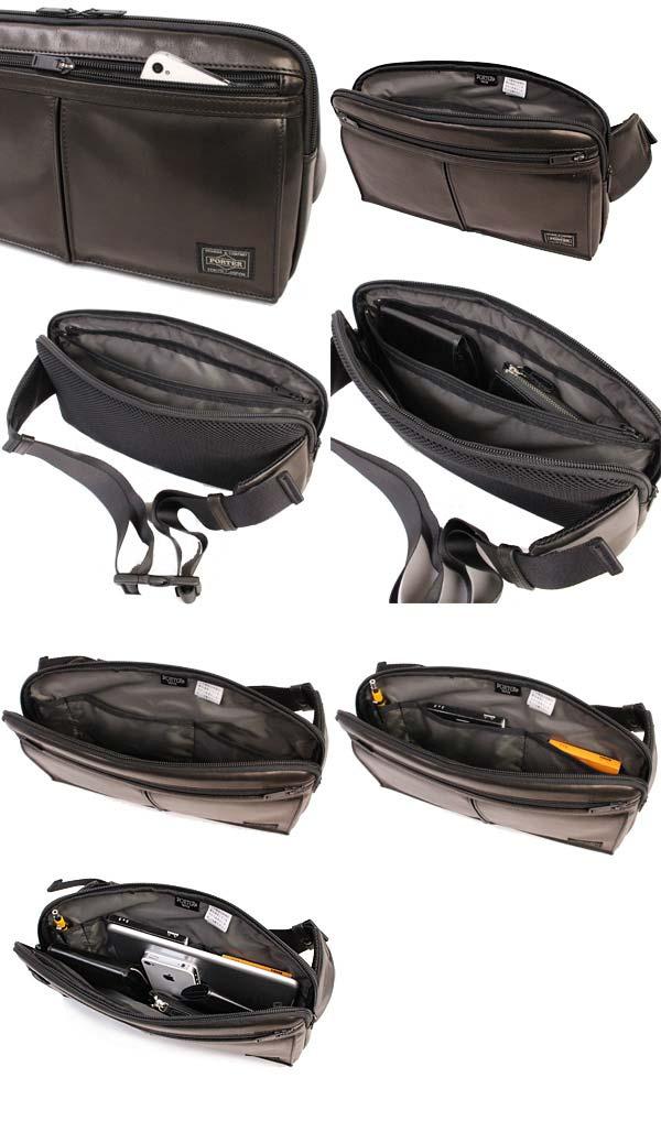 ポーター アメイズ ウエストバッグ 022-03795 ディティール02