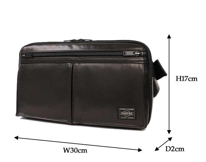 ポーター アメイズ ウエストバッグ 022-03795 サイズ