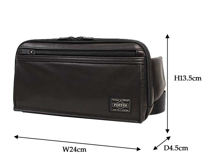 ポーター アメイズ ウエストバッグ 022-03796 サイズ