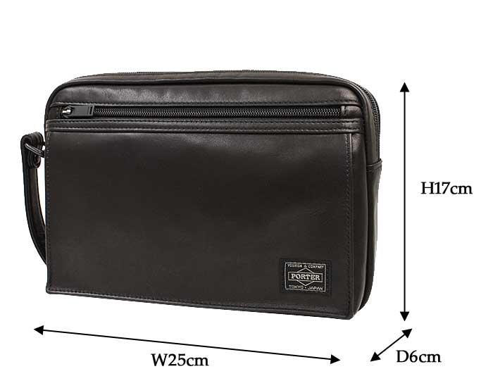 ポーター アメイズ セカンドバッグ 022-03797 サイズ