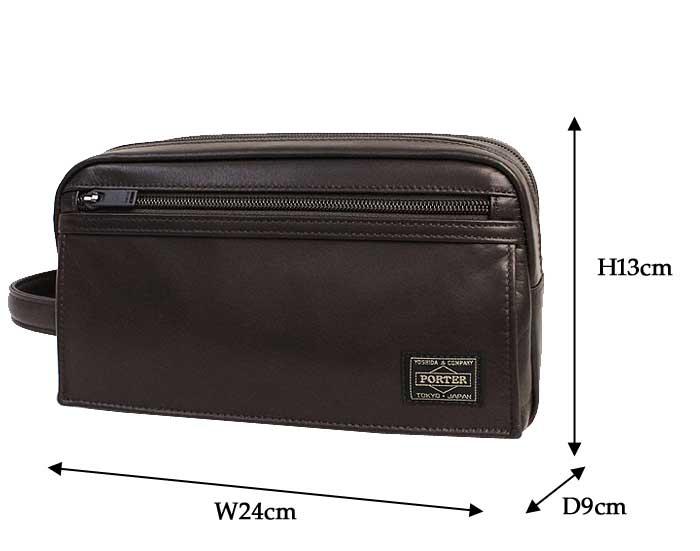 ポーター アメイズ セカンドバッグ 022-03798 サイズ
