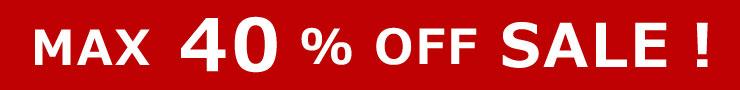 MAX30%OFF