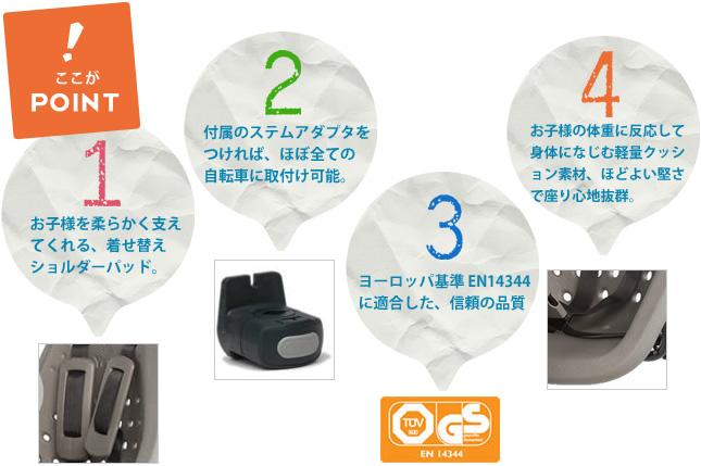 Yepp mini Set(イエップ・ミニ・セット)ここがPOINT
