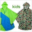 4ING KIDS Rain Poncho フォーイング キッズ レインポンチョ(子供用)