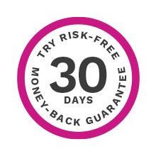 トリアは30日間返金保証