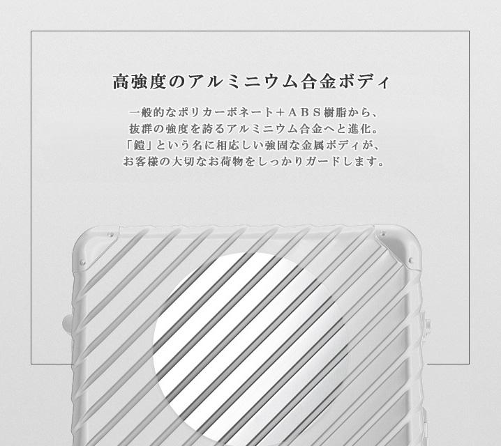 高強度アルミニウム合金ボディ