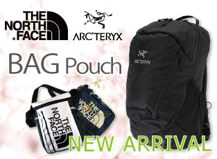 THE NORTH FACE ARC'TERYX PATAGONIA バッグ 新入荷