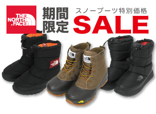 THE NORTH FACE SNOW BOOT スノーブーツ SALE!!