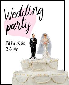 結婚式&2次会