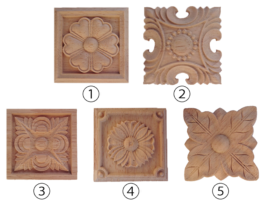 Wooden Decoration Plate Diy Furniture Interior Decorations Art Object Pot Stand Craft Parts Work 3