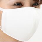 抗ウイルスマスク 綿ローン オフホワイト