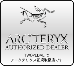 TWOPEDALはアークテリクス正規取扱店です