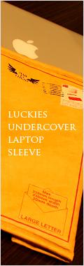 LUCKIES UNDERCOVER LAPTOP SLEEVE