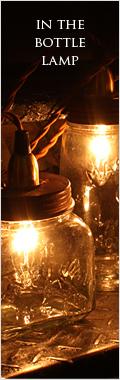 IN THE BOTTLE LAMP
