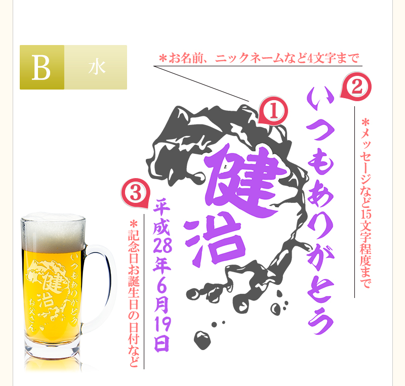 【B】和風・水