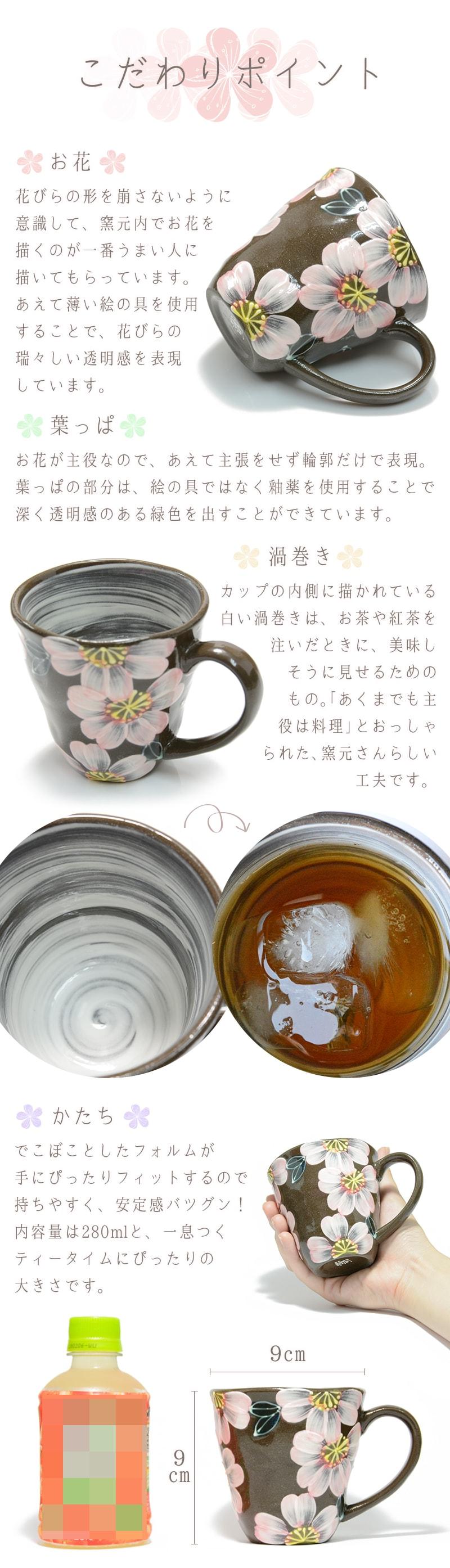 こだわりポイント。あえて薄い絵の具を使用することで、花びらの瑞々しい透明感を表現しています。