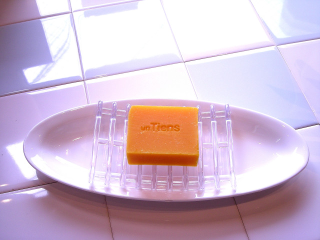 アンティアン手作り洗顔石鹸用石鹸置きソープディッシュお皿付き