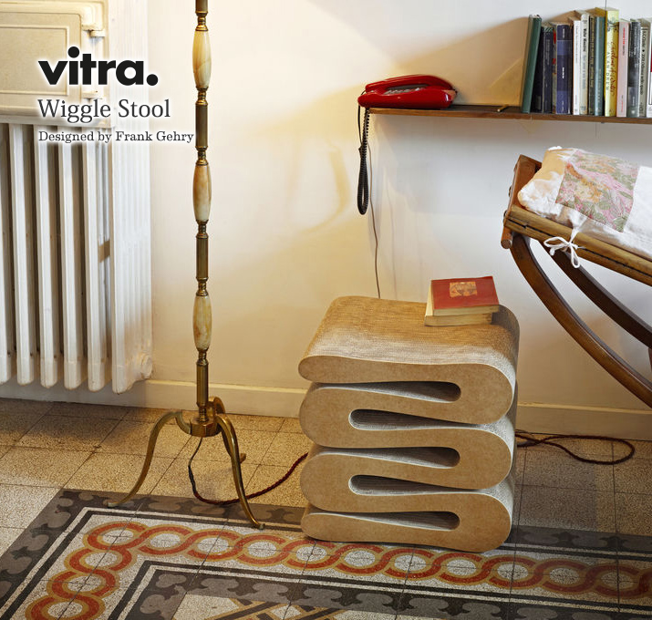 Vitra wiggle スツール