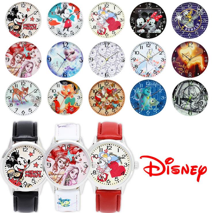 ディズニー キャラクター腕時計 ミッキー ミニー ドナルド