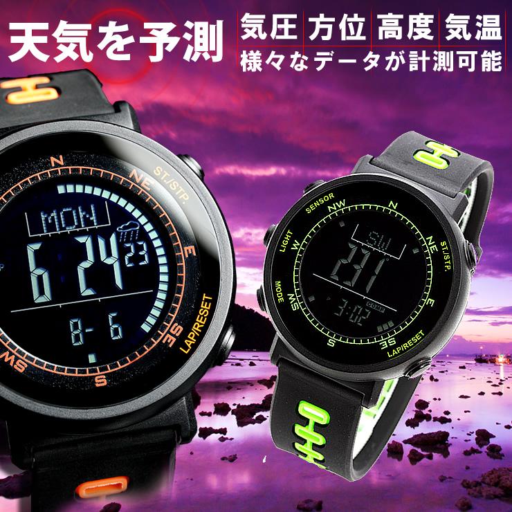 スイス製センサー搭載 ブランド 腕時計 メンズ/レディース 男性用/女性用 ウォッチ スポーツ/アウトドア/デジタル 時計 クロノグラフ watch